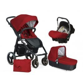 CASUALPLAY - Set kočárek LOOP, autosedačka Baby 0plus, vanička Cot a Bag 2017 - Indian