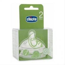 Chicco - Dudlík Step Up 2 ks, střední průtok, 2 m +