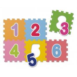 Chicco - Pěnové puzzle Čísla 30x30cm 6ks