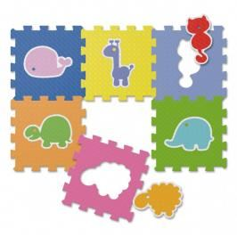 Chicco - Pěnové puzzle Zvířátka 30x30cm 6ks