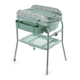Chicco - Přebalovací stolek s vaničkou Cuddle & Bubble - Eucalyptus