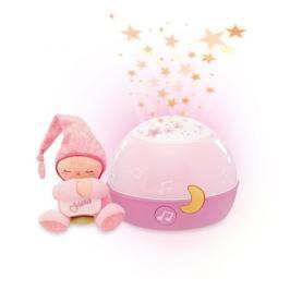 Chicco - Projektor GoodNight Stars - růžový