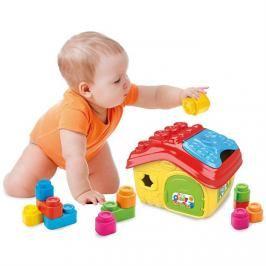 CLEMENTONI - Clemmy Baby - Prestrkovacie kbelík domeček s 14 soft kostkami