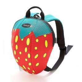 CLIPPASAFE - Dětský batoh s odnímatelným vodítkem, Strawberry