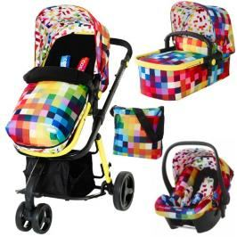 COSATTO - Kočárek Giggle 3 in 1 Travel System (Pixelate) - 2015