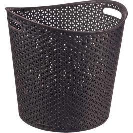 CURVER - Koš na špinavé prádlo Y Style Rattan 30 l - hnědý