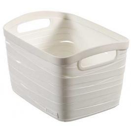 CURVER - Košík Ribbon, umělá hmota, bílý - velikost S