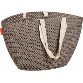 CURVER - Plastová taška univerzální - hnědá