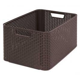 CURVER - Úložný box RATTAN Style2 - L - hnědá