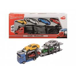 DICKIE - Autotransporter + 4 Autíčka