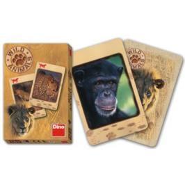 DINO - Wild Animals-Karty Černý Petr