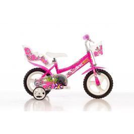 DINO BIKES - Dětské kolo Dino 126RL se sedačkou pro panenku a košíkem - 12