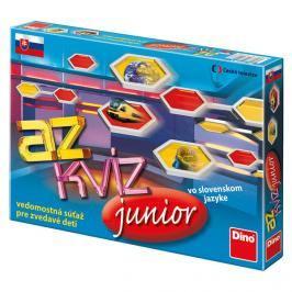 DINOTOYS - Společenská hra AZ Kvíz Junior - Sk