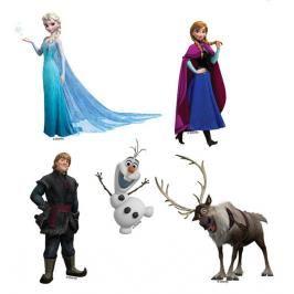 DISNEY - Dekorace na zeď - Frozen - Sada