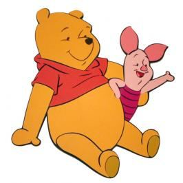 DISNEY - Pooh s prasátkem
