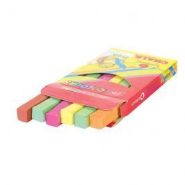 EASY - Křída tabulová, 6 barev