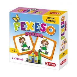 EFKO-KARTON - Pexeso rodina baby 54678
