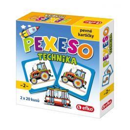 EFKO-KARTON - Pexeso technika baby 54677
