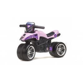 FALK - Odrážedlo 508 Moto Racing Team fialové