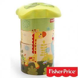 FISHER PRICE - Moje první dřevěná pyramída- puzzle strom
