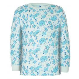 GMINI - PRIMA-pyžamo dvoudílné LIŠKA A modrá 104