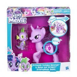 HASBRO - My Little Pony Hrací set se zpívající Twilight Sparkle a Spikem