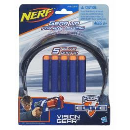 HASBRO - Nerf Elite Brýle + 5 Ks Šipek