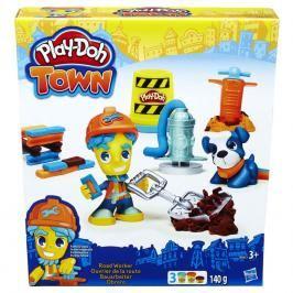 HASBRO - Play Doh Playdoh Town Figurka Se zvířátkem Asst