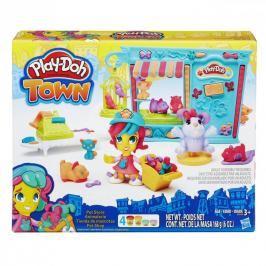 HASBRO - Play Doh Playdoh Town Obchod se zvířátky