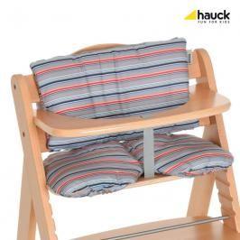 HAUCK - Podložka ke židlím Alpha - Multi Stripe grey 2018