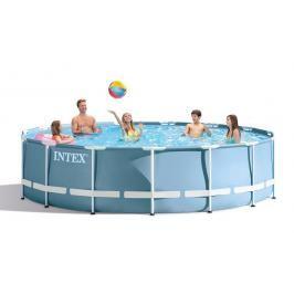 INTEX - bazén Prism Frame 457 x 107 cm s filtračním zařízením 26734