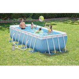 INTEX - bazén Prism Frame obdélníkový 400 x 200 x 100 cm s filtračním zařízením 267766