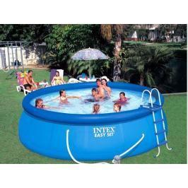 INTEX - nafukovací bazén 457x107 cm s filtračním zařízením 26166