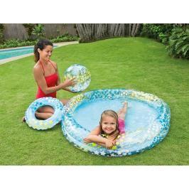 INTEX - nafukovací bazén s míčem a kolem
