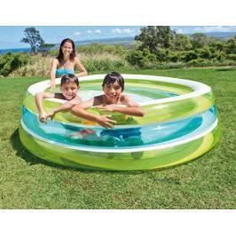 INTEX - nafukovací dětský bazén Průhledný 57489