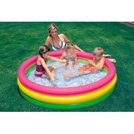 INTEX - nafukovací dětský bazének trojbarevný