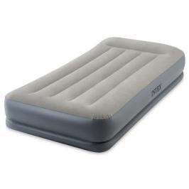INTEX - nafukovací postel 64116 Mid - Raise Pillow Rest Twin s integrovanou elektrickou pumpou