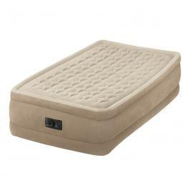 INTEX - nafukovací postel 64456 Ultra Plush Twin s integrovanou elektrickou pumpou