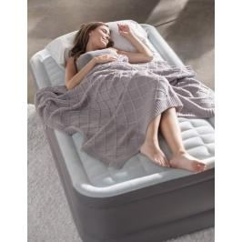 INTEX - nafukovací postel 64482 PremAire TWIN s integrovanou elektrickou pumpou