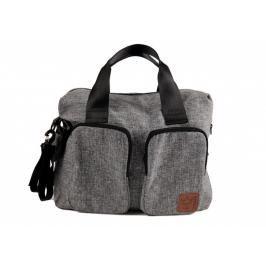 KAISER - Přebalovací taška Worker Melange - Black