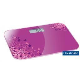 LANAFORM - Electronic Scale digitální osobní váha růžová