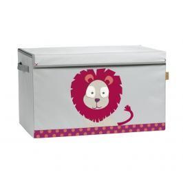 LÄSSIG - Box na hračky Toy Trunk Wildlife Lion