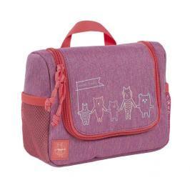 LÄSSIG - Dětská taštička na hygienu Mini Washbag About Friends mélange pink