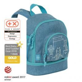 LÄSSIG - Dětský batoh Mini Backpack About Friends mélange blue