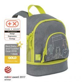 LÄSSIG - Dětský batoh Mini Backpack About Friends mélange grey