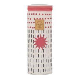 LÄSSIG - Obal na láhev Casual Bottle Holder Single - Dots Strokes Dubarry