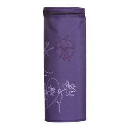 LÄSSIG - Obal na láhev Casual Bottle Holder Single - Vertical dark purple