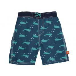 LÄSSIG - Plavky Board Shorts Boys - blue whale od 12 měsíců
