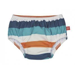 LÄSSIG - Plavky Swim Diaper Boys - multistripe 18 měsíců