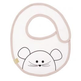 LÄSSIG - Bryndák Small Bib Waterproof Little Chums mouse